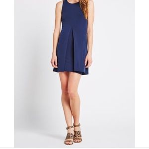 BCBGeneration Go Everywhere Navy Mini Dress sz M